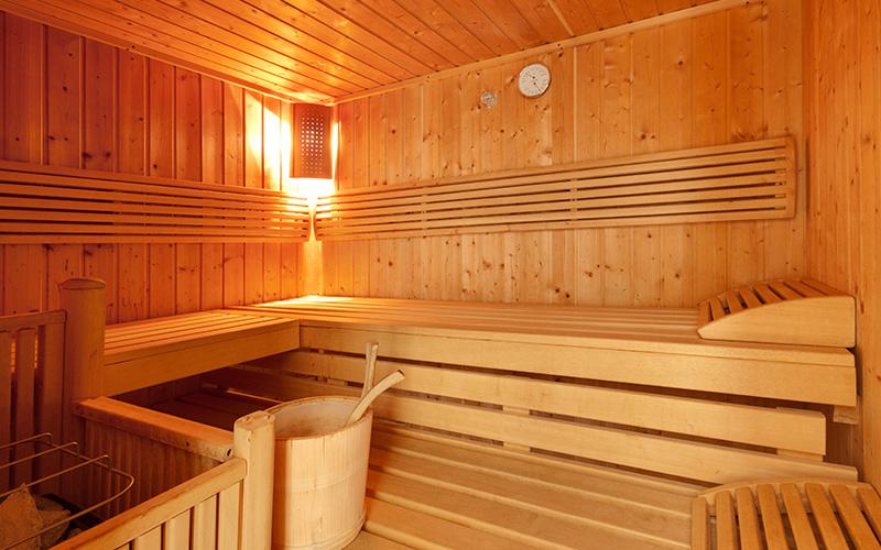 Hotel Bergkranz Sauna