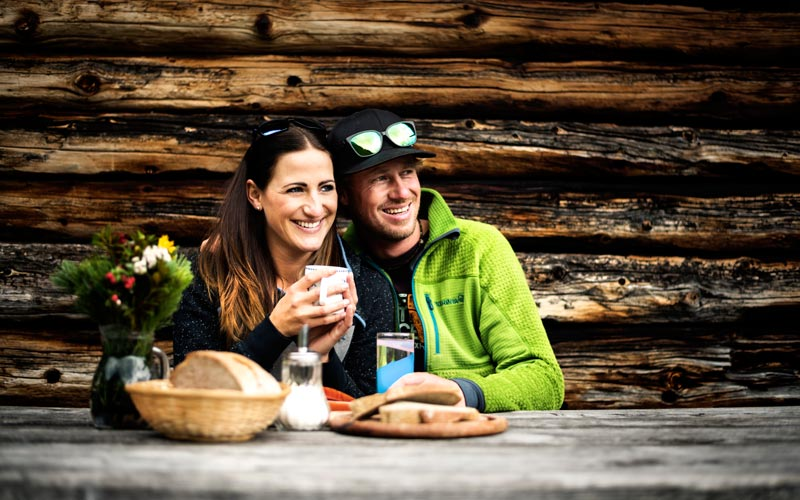 Delicious hiking in the Stubai Valley
